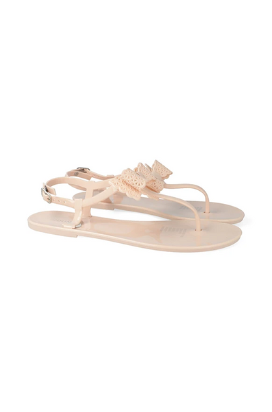 Melrose Sling Back Jelly _ 116270 _ Nude