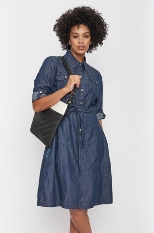 Edmaire Denim Shirt Dress _ 116449 _ Blue