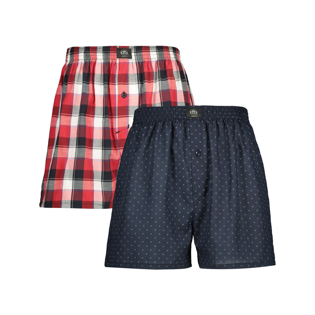 Ace Woven Boxers _ 117737 _ Red