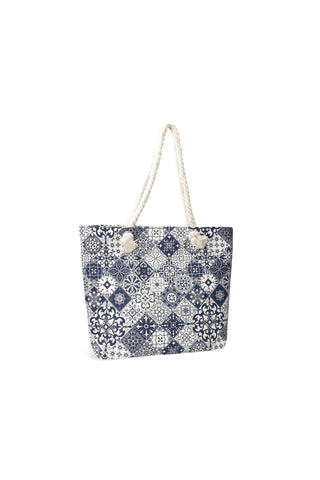 Teegan Shopper Handbag _ 118486 _ Navy