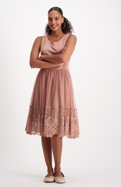 Julia Dress _ 118491 _ Dusty Pink