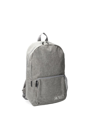 West Bross Backpack _ 118493 _ Grey Mel