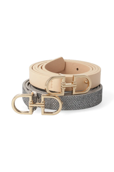 Kerry 2 Pack Skinny Belts _ 118792 _ Multi