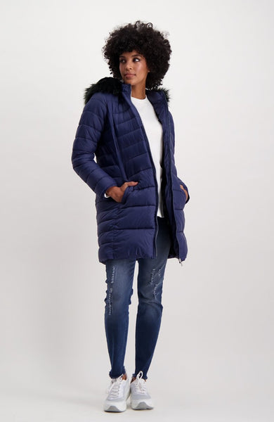 Chicago Puffer Coat _ 118793 _ Navy