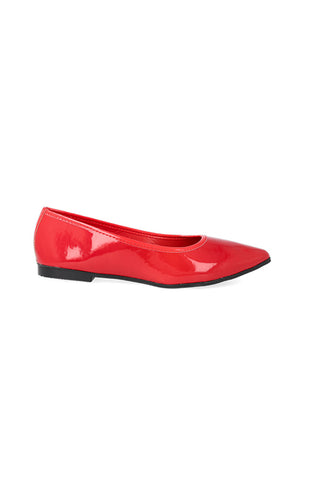 Rinney Pointy Patent Pump _ 119028 _ Red