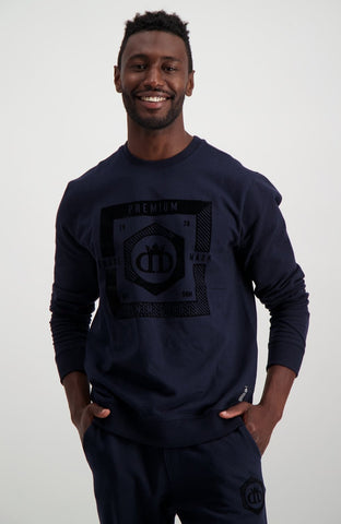 Cardinal Crew Sweat _ 119303 _ Navy