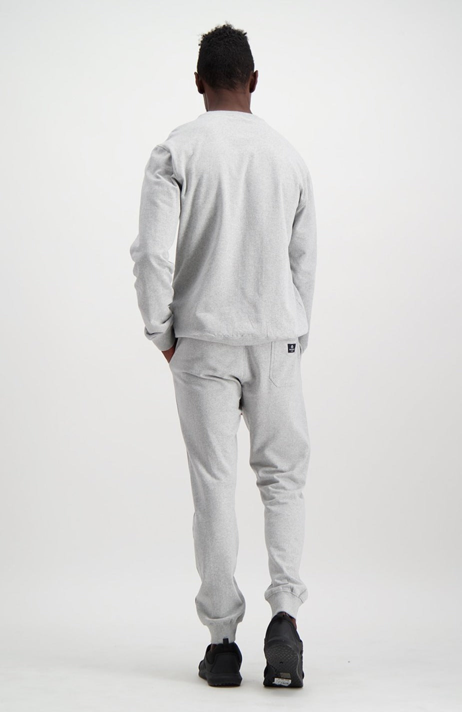 Cardinal Crew Sweat _ 119304 _ Grey Mel