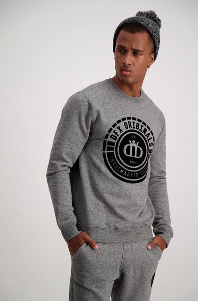 Durkin Crew Sweat _ 119326 _ Charcoal