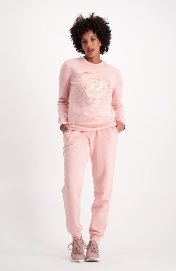 North Side Crew Sweat _ 119384 _ Dusty Pink