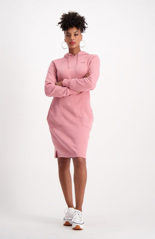 South Street Fleece Dress _ 119462 _ Pink