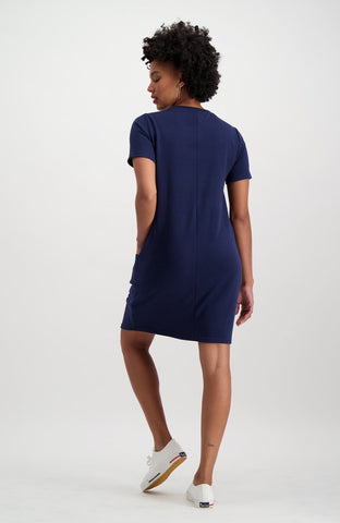 Larkspur Tunic _ 119505 _ Navy