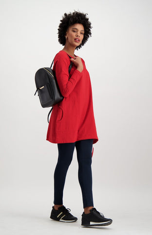 Tyler Tunic _ 119508 _ Red