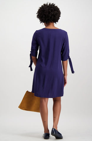 Bienterra Tunic Dress _ 119943 _ Navy