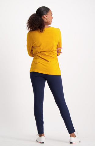 Scarlette Super Stretch Legging _ 120062 _ Navy