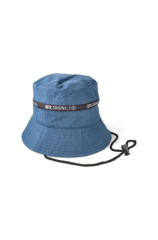 Knox Tie Bucket Hat _ 120164 _ Blue