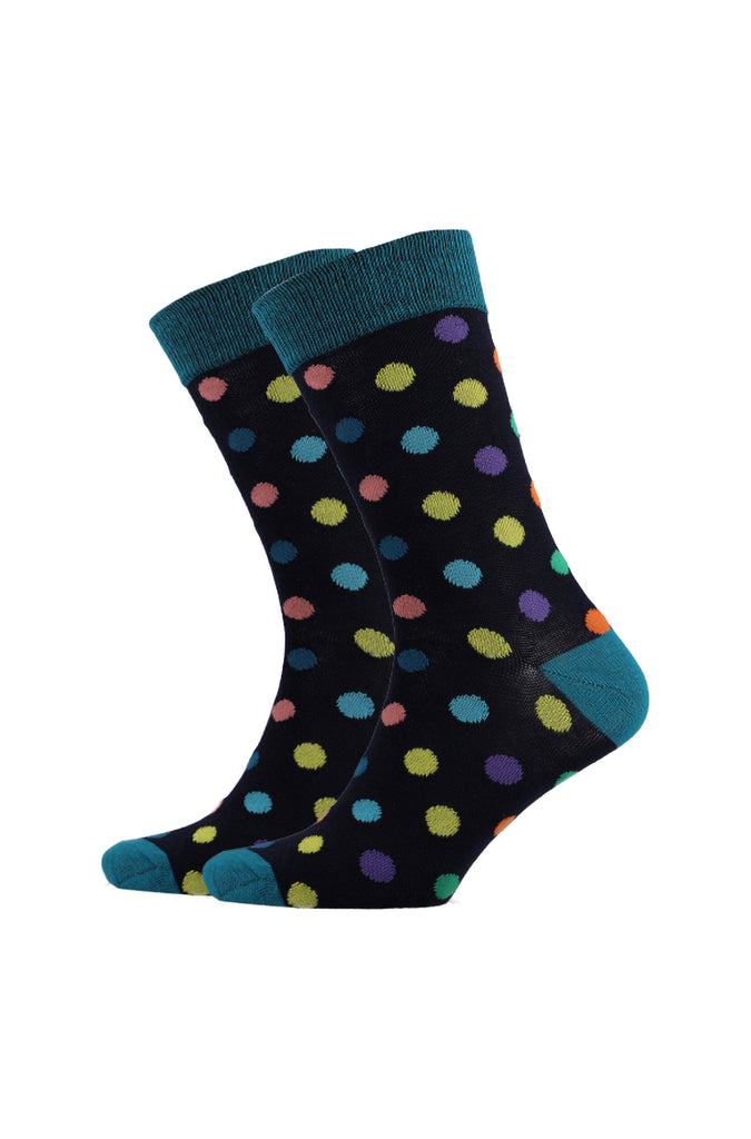 Dotty Single Socks _ 120238 _ Black