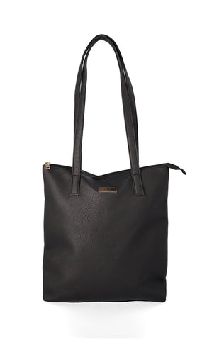 Heather Shopper Handbag _ 120292 _ Black