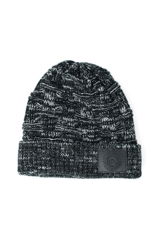 Victor Cable Knit Beanie _ 120590 _ Black