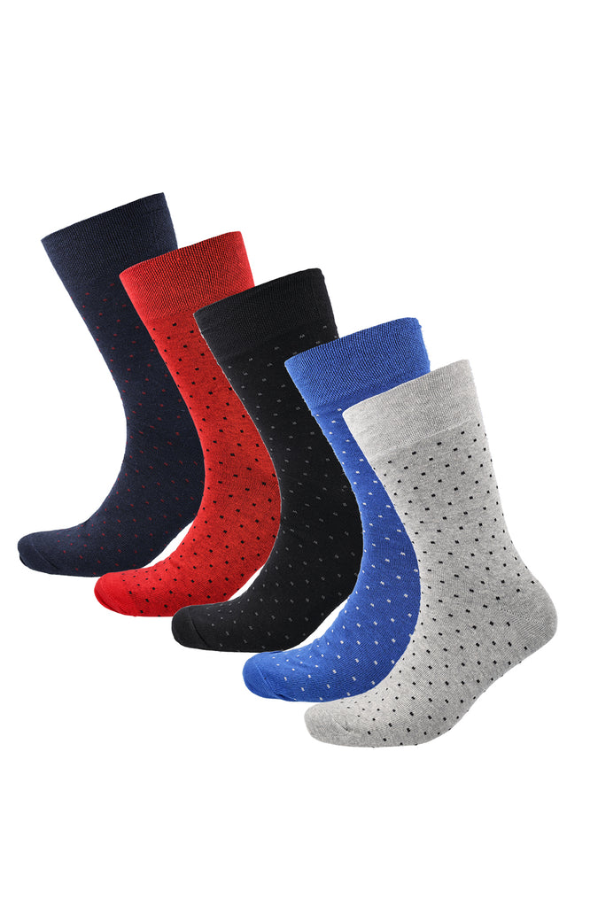 Bond 5pk Work Socks _ 120622 _ Multi