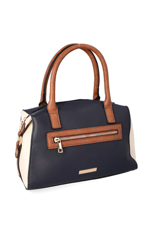 Laura Colourblock Barrel Handbag _ 120761 _ Multi
