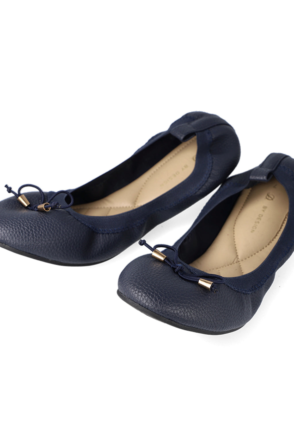 Alder Elasticated Pump _ 120788 _ Navy