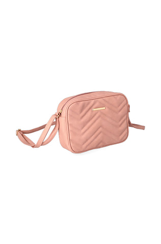 Holly Quilted Handbag _ 121110 _ Pink