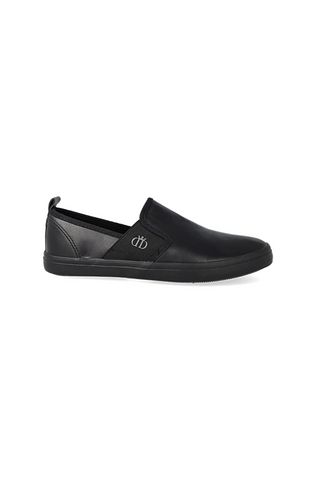 Amos Gusset Slip On _ 121130 _ Black