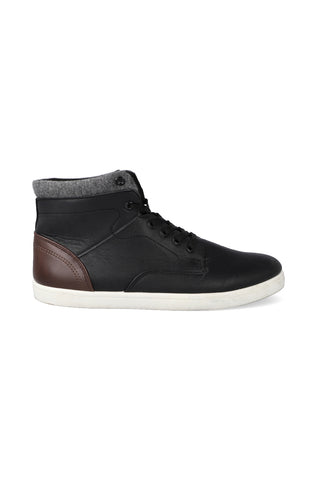 Anchor High Top Lace Up _ 121133 _ Black