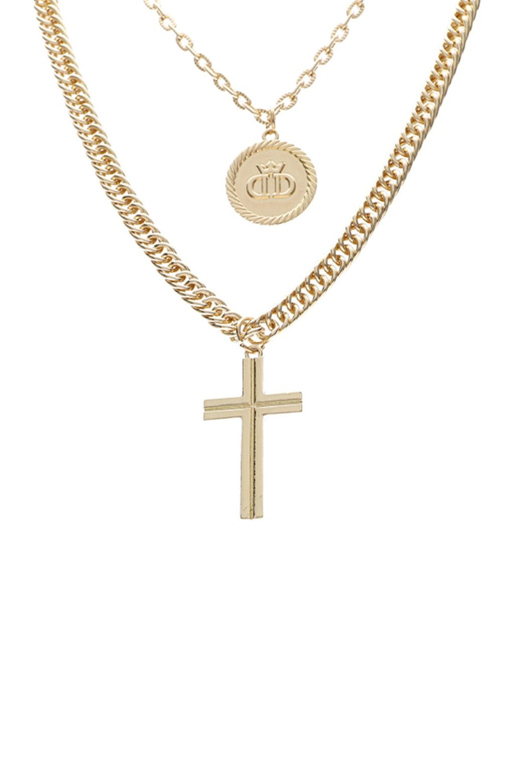 Mathers Double Chain _ 121182 _ Gold