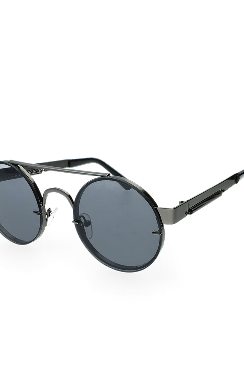 Cermak Fashion Aviator Sunglasses _ 121247 _ Black