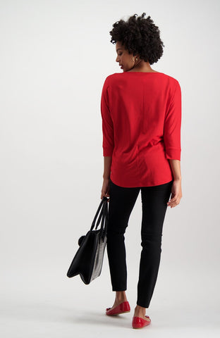 Phillipa Dolman Top _ 121421 _ Red