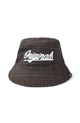 Stephen Check Bucket Hat _ 121830 _ Tobacco