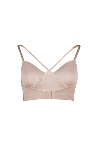 Gaia Crop Bra Top _ 122000 _ Pink
