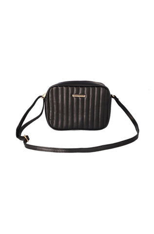 Abbey Quilted Sling Handbag _ 118095 _ Black