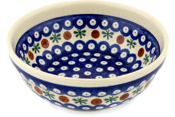 "Polish Pottery Bowl 7"" Mosquito Theme"