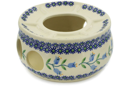 "Polish Pottery Heater 6"" Sweet Dreams Theme"