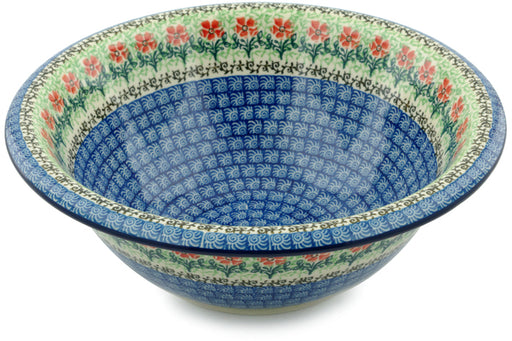"Polish Pottery Bowl 10"" Maraschino Theme"