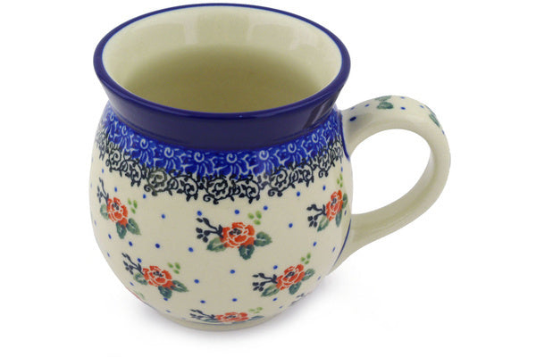 Polish Pottery Bubble Mug 16 oz Pasadena Delight Theme