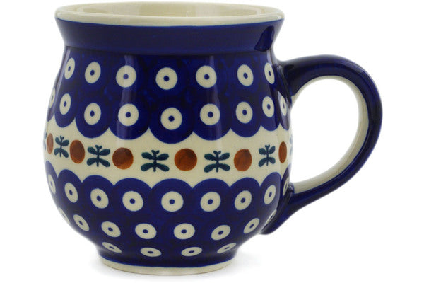 Polish Pottery Bubble Mug 19 oz Mosquito Theme