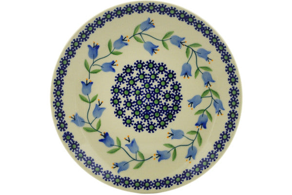 "Polish Pottery Plate 7"" Sweet Dreams Theme"