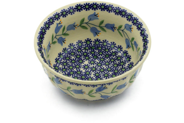 "Polish Pottery Bowl 6"" Sweet Dreams Theme"