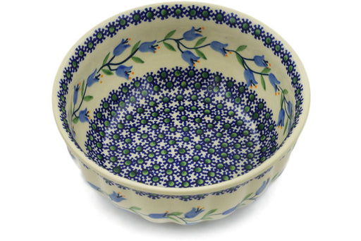 "Polish Pottery Bowl 7"" Sweet Dreams Theme"