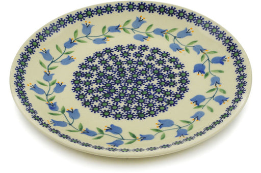 "Polish Pottery Plate 8"" Sweet Dreams Theme"