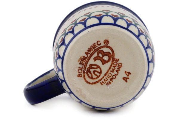 Polish Pottery Mug 12 oz Babcia-grandma Theme