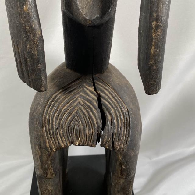 "41"" Carved African Sculpture, Mumuye, Nigeria - Kiss It Good Buy"