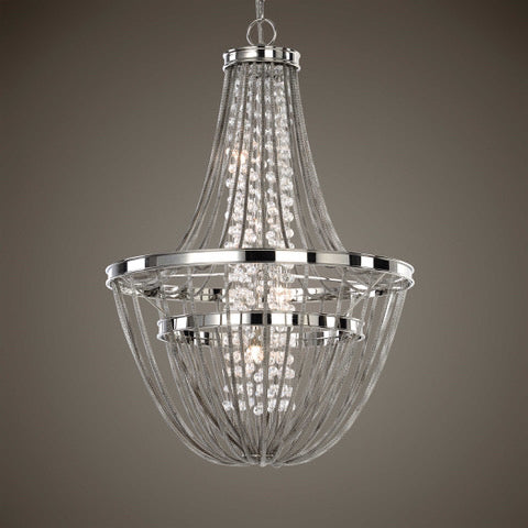 Uttermost Couler 4 Lt Chandelier NEW 20x30