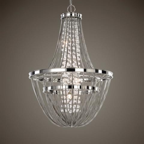 21302 Couler 4 Lt Chandelier NEW 30x20