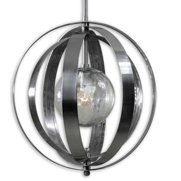Uttermost Trofarello Nickel Pendant NEW: $464 21x19
