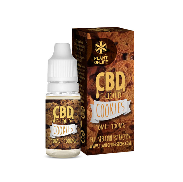 E-liquid COOKIES 100 mg de CBD