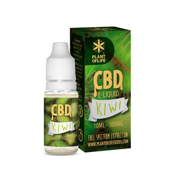 E-liquid KIWI 100 mg de CBD